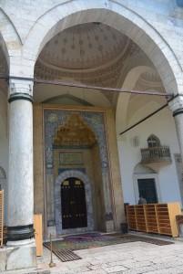 Entree mosquee sarajevo