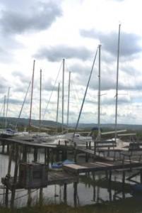 Podorose bateau sur canal 1