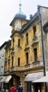 maisons Baroque Ljubjana