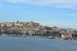 Cagliari vue du bateau 6