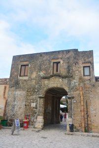 Scopello ferme fortifiée baclio