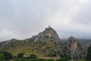 Scopello vue sur la tour