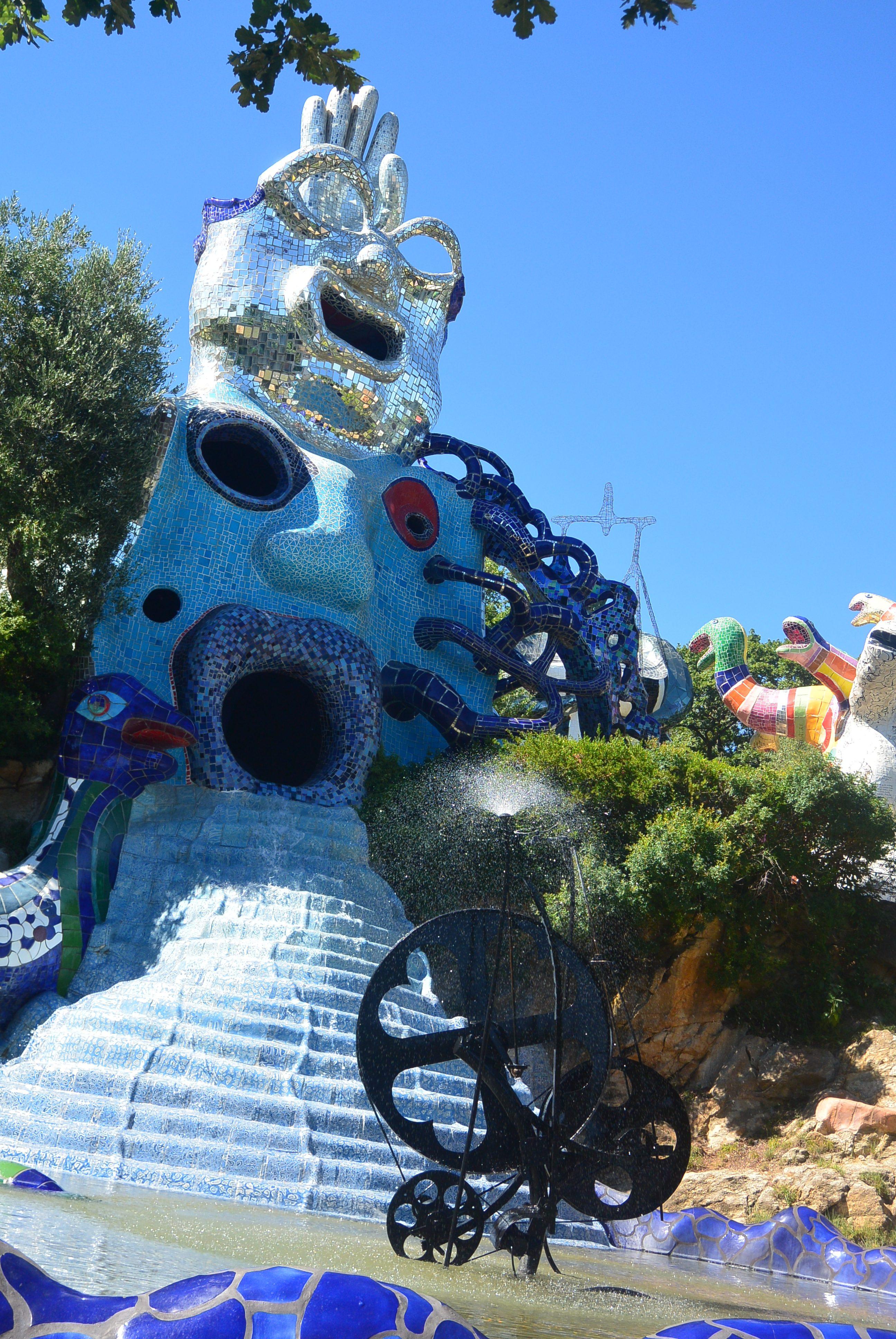 Un apr¨s midi au jardin des tarots – Le Fourgon Jaune